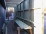 Nyt depot under opførelse 2001